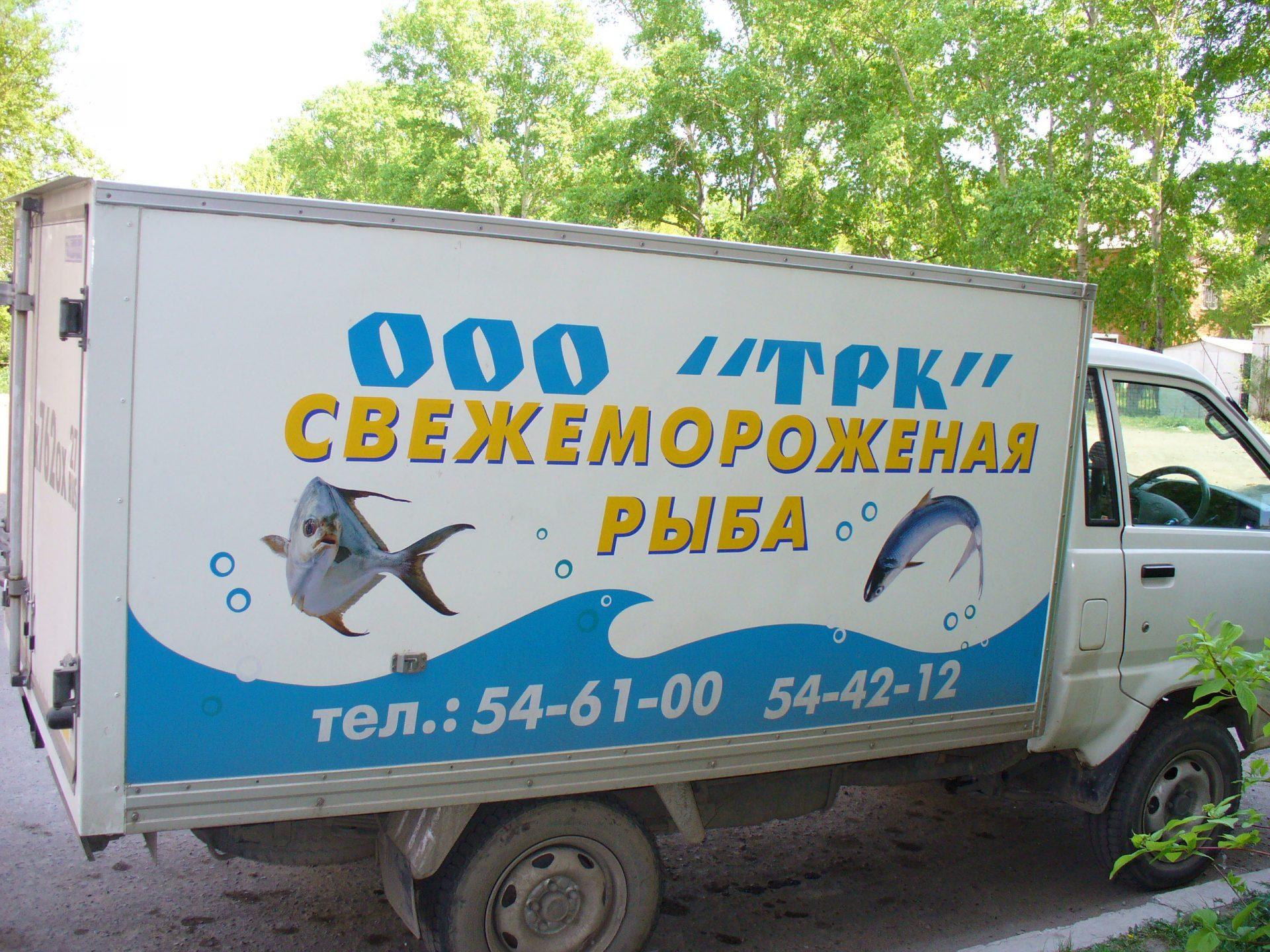 ТРК, свежемороженая рыба