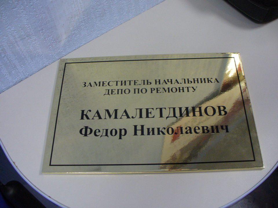 офисная табличка на дверь